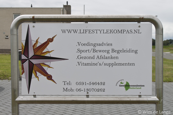 Reclamebord Lifestyle Kompas