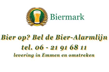 Biermark uw bierkoerier voor Emmen en omstreken