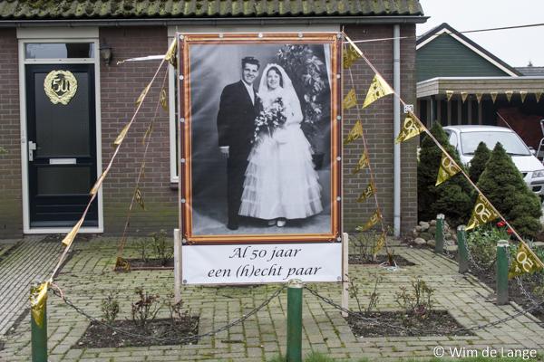 Fotospandoek 50 jaar getrouwd